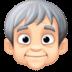 🧓🏻 older person: light skin tone Emoji on Facebook Platform