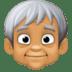 🧓🏽 older person: medium skin tone Emoji on Facebook Platform