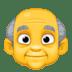👴 Old Man Emoji on Facebook Platform