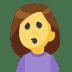 🙎 person pouting Emoji on Facebook Platform