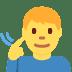 🧏♂️ deaf man Emoji on Facebook Platform