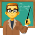 👨‍🏫 man teacher Emoji on Facebook Platform