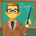 👨🏫 man teacher Emoji on Facebook Platform