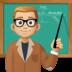 👨🏼🏫 man teacher: medium-light skin tone Emoji on Facebook Platform