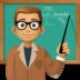 👨🏽🏫 man teacher: medium skin tone Emoji on Facebook Platform
