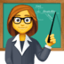👩‍🏫 woman teacher Emoji on Facebook Platform