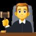 👨⚖️ man judge Emoji on Facebook Platform