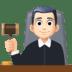 👨🏻⚖️ man judge: light skin tone Emoji on Facebook Platform