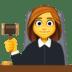 👩⚖️ woman judge Emoji on Facebook Platform