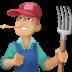 👨🏼🌾 man farmer: medium-light skin tone Emoji on Facebook Platform