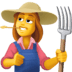 👩‍🌾 woman farmer Emoji on Facebook Platform