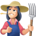 👩🏻🌾 woman farmer: light skin tone Emoji on Facebook Platform