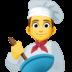 👨🍳 man cook Emoji on Facebook Platform