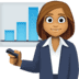 👩🏽‍💼 woman office worker: medium skin tone Emoji on Facebook Platform