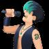 👨🏻🎤 man singer: light skin tone Emoji on Facebook Platform