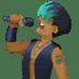 👨🏾🎤 man singer: medium-dark skin tone Emoji on Facebook Platform