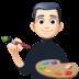 👨🏻🎨 man artist: light skin tone Emoji on Facebook Platform