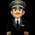 👨🏽✈️ man pilot: medium skin tone Emoji on Facebook Platform