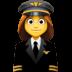👩✈️ woman pilot Emoji on Facebook Platform
