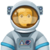 👨‍🚀 man astronaut Emoji on Facebook Platform