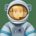 👨🏻🚀 man astronaut: light skin tone Emoji on Facebook Platform