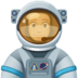 👨🏼‍🚀 man astronaut: medium-light skin tone Emoji on Facebook Platform