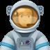 👨🏽🚀 man astronaut: medium skin tone Emoji on Facebook Platform