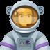 👩🚀 woman astronaut Emoji on Facebook Platform