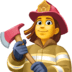 👩🚒 woman firefighter Emoji on Facebook Platform