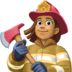 👩🏽‍🚒 woman firefighter: medium skin tone Emoji on Facebook Platform