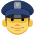 👮 police officer Emoji on Facebook Platform