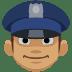 👮🏽 police officer: medium skin tone Emoji on Facebook Platform