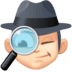 🕵🏻‍♂️ man detective: light skin tone Emoji on Facebook Platform