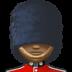 💂🏿♂️ man guard: dark skin tone Emoji on Facebook Platform