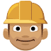 👷🏽 construction worker: medium skin tone Emoji on Facebook Platform