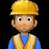 👷🏽♂️ man construction worker: medium skin tone Emoji on Facebook Platform