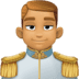 🤴🏽 prince: medium skin tone Emoji on Facebook Platform