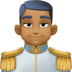 🤴🏾 prince: medium-dark skin tone Emoji on Facebook Platform