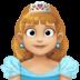 👸🏼 princess: medium-light skin tone Emoji on Facebook Platform