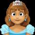 👸🏽 princess: medium skin tone Emoji on Facebook Platform
