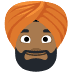 👳🏾 person wearing turban: medium-dark skin tone Emoji on Facebook Platform