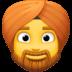 👳♂️ man wearing turban Emoji on Facebook Platform