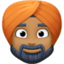 👳🏾‍♂️ Medium Dark Skin Tone Man Wearing Turban Emoji on Facebook Platform