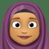 🧕🏽 woman with headscarf: medium skin tone Emoji on Facebook Platform