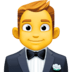 🤵 man in tuxedo Emoji on Facebook Platform
