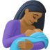 🤱🏾 breast-feeding: medium-dark skin tone Emoji on Facebook Platform