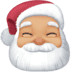 🎅🏼 Santa Claus: medium-light skin tone Emoji on Facebook Platform