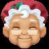 🤶🏼 Mrs. Claus: medium-light skin tone Emoji on Facebook Platform
