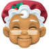 🤶🏽 Mrs. Claus: medium skin tone Emoji on Facebook Platform