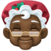 🤶🏿 Mrs. Claus: dark skin tone Emoji on Facebook Platform